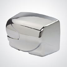 Dolphin - Surface Mounted Hot Air Hand Dryer - Chrome - BC2200RA Medium Image
