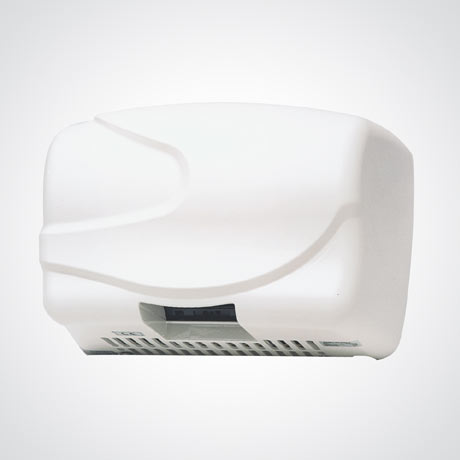 Dolphin - Wide Body Hot Air Hand Dryer - White - BC2200W