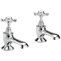 Hudson Reed Topaz Bath Taps - Chrome - BC302 Medium Image