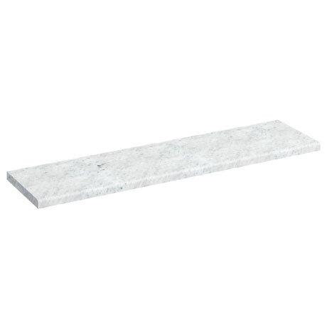 Burlington 120cm Minerva Worktop - Carrara White