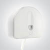 Dolphin Excel Plastic Jumbo Toilet Paper Dispenser - BC337W profile small image view 1