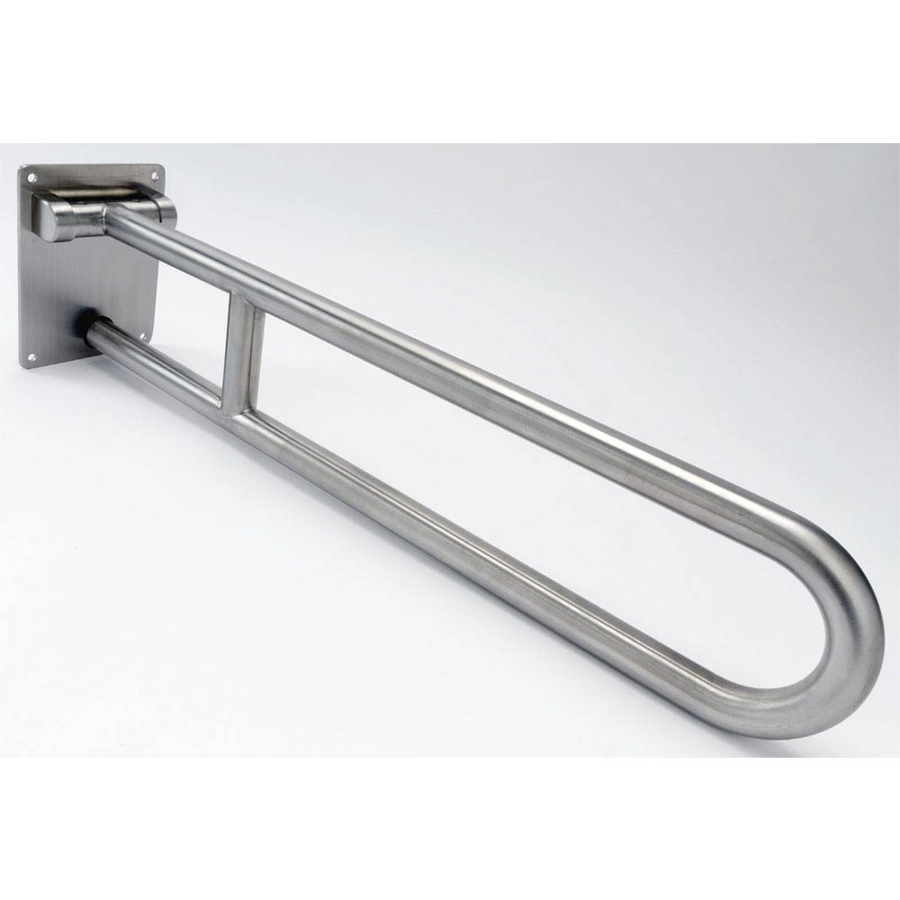 Dolphin Stainless Steel Hinged Support Rail - BC5083-06 Large Image