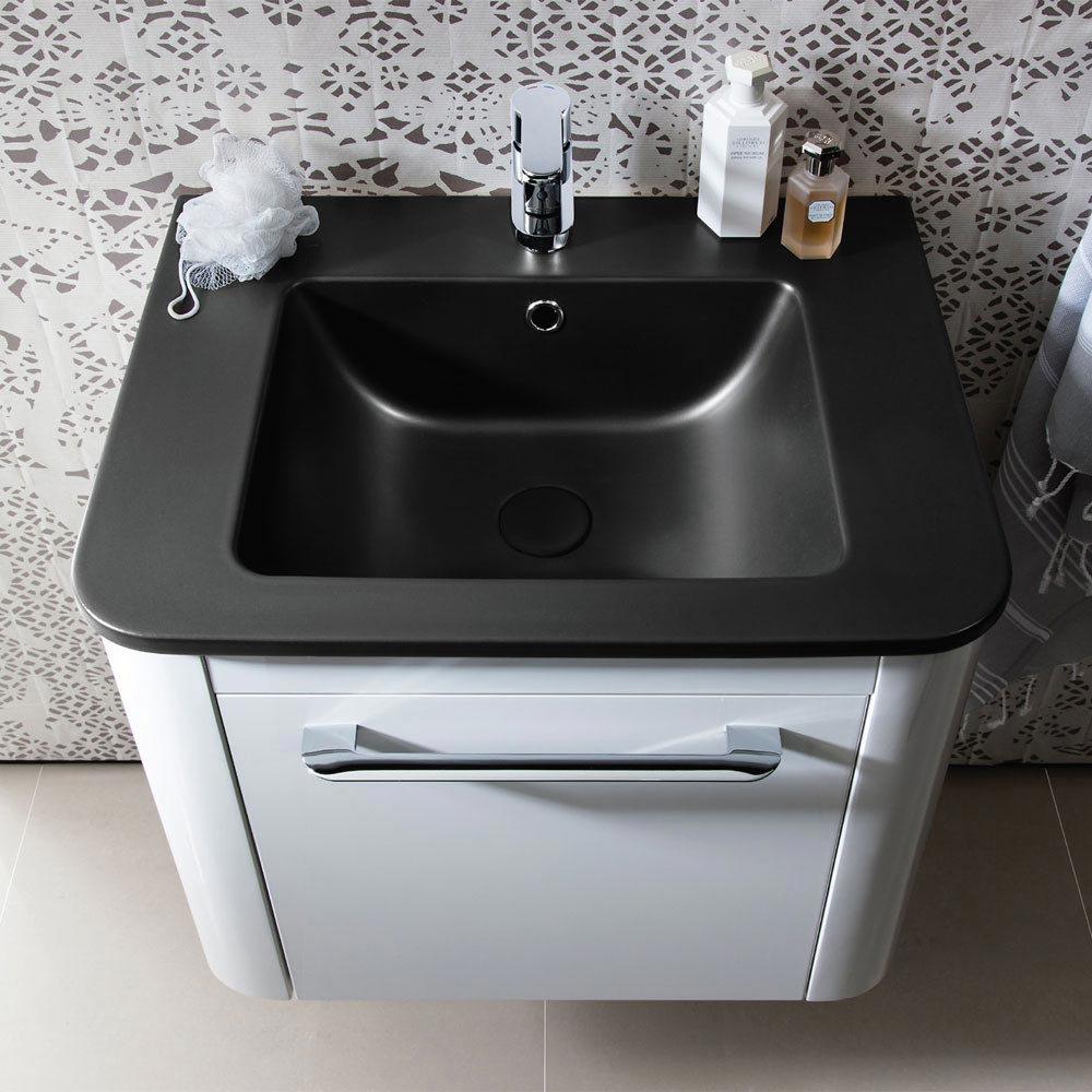 Bauhaus Celeste Vanity Unit with Plus+Ton Basin - Pebble Profile Large Image