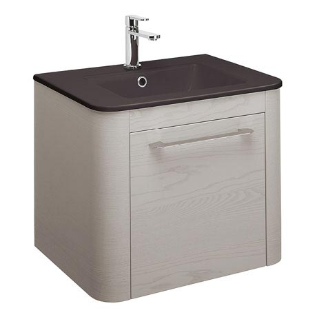 Bauhaus Celeste Vanity Unit with Plus+Ton Basin - Pebble