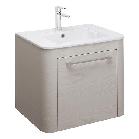 Bauhaus Celeste Vanity Unit with Basin - Pebble