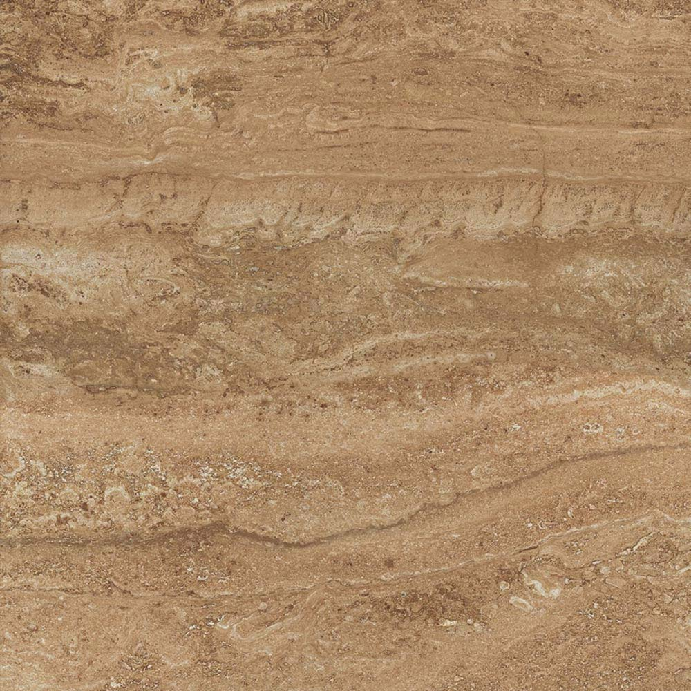 Bosa Marbled Brown Floor Tile (Matt - 450 x 450mm)  Feature Large Image