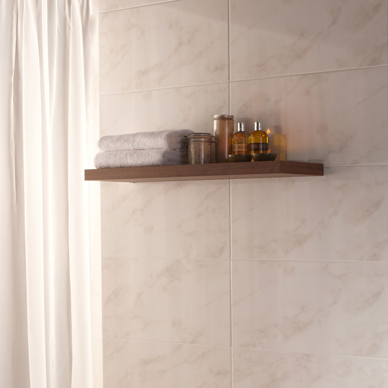 BCT Tiles - 6 Dorchester Calacatta Beige Wall Tiles - 300x600mm - BCT15444 Profile Large Image