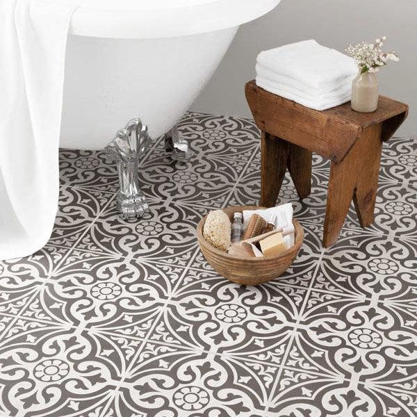 9 Devonstone Grey Feature Floor Tiles - 331x331mm - BCT11064 profile large image view 2