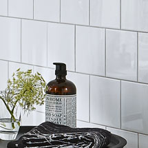 BCT Tiles - 44 White Wall Gloss Tiles - 148x148mm - BCT11729