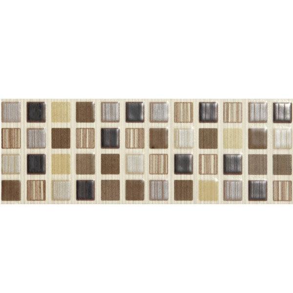 BCT Tiles - 6 Willow Brown Satin Strips - 248x80mm - BCT09894 Large Image