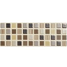 BCT Tiles - 6 Willow Brown Satin Strips - 248x80mm - BCT09894 Medium Image