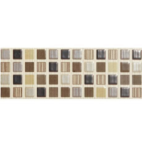 BCT Tiles - 6 Willow Brown Satin Strips - 248x80mm - BCT09894