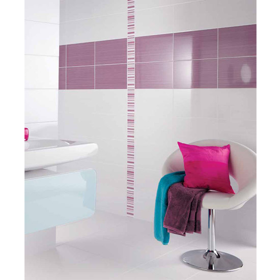 BCT Tiles - 10 Brighton White Wall Gloss Tiles - 248x398mm - BCT12238 Feature Large Image