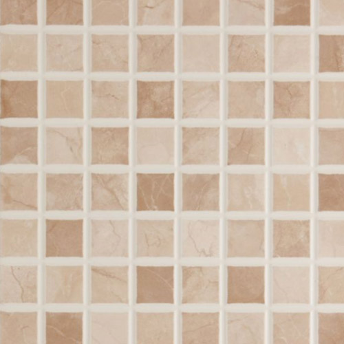 BCT Tiles - 10 Elgin Cappuccino Beige Mosaic Wall Gloss Tiles - 248x398mm - BCT12696 Profile Large Image