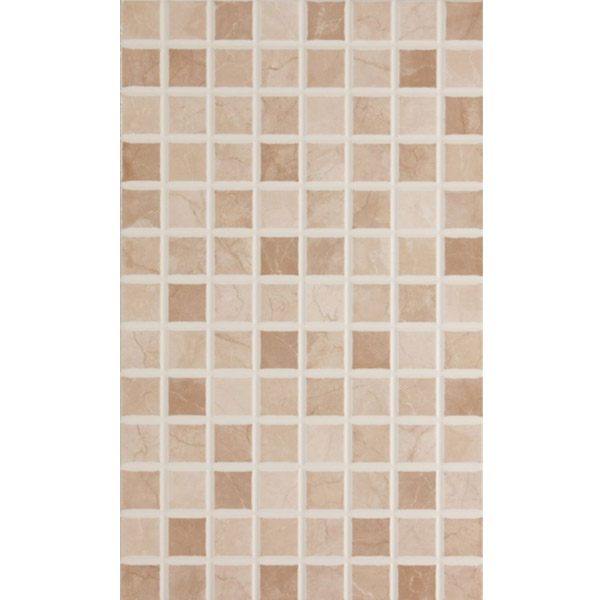 BCT Tiles - 10 Elgin Cappuccino Beige Mosaic Wall Gloss Tiles - 248x398mm - BCT12696 Large Image