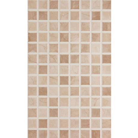 BCT Tiles - 10 Elgin Cappuccino Beige Mosaic Wall Gloss Tiles - 248x398mm - BCT12696