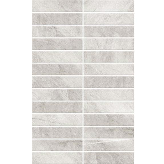 BCT Tiles - 10 Dartmoor Naturals Quartz Pressed Mosaic Wall Satin Tiles - 248x398mm - BCT13143 Large Image