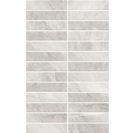 BCT Tiles - 10 Dartmoor Naturals Quartz Pressed Mosaic Wall Satin Tiles - 248x398mm - BCT13143