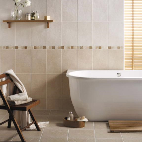 BCT Tiles - 9 Buxton Beige Floor Rustic Tiles - 333x333mm - BCT13815 Profile Large Image