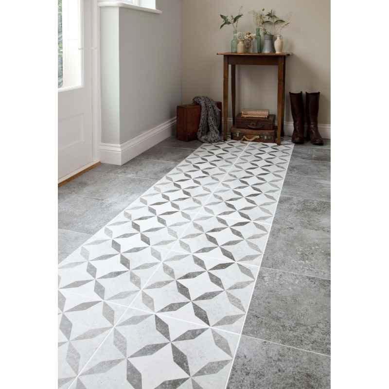 BCT Tiles - 9 Concrete Dark Grey Matt High Definition Floor Tiles - 331x331mm - BCT14416 Profile Large Image