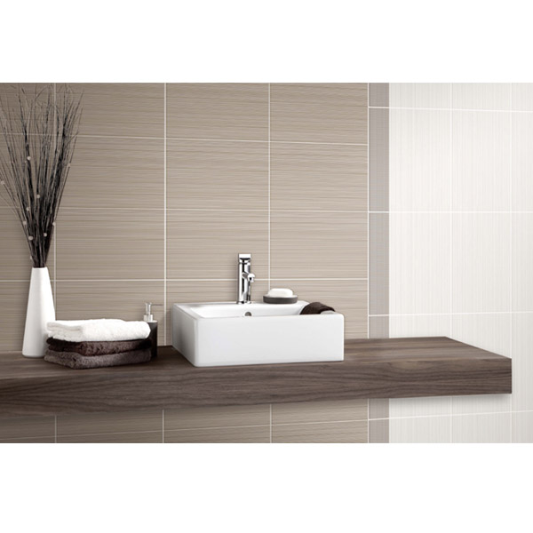 BCT Tiles - 10 Brighton Ivory Gloss Wall Tiles - 248x398mm - BCT14584 Profile Large Image