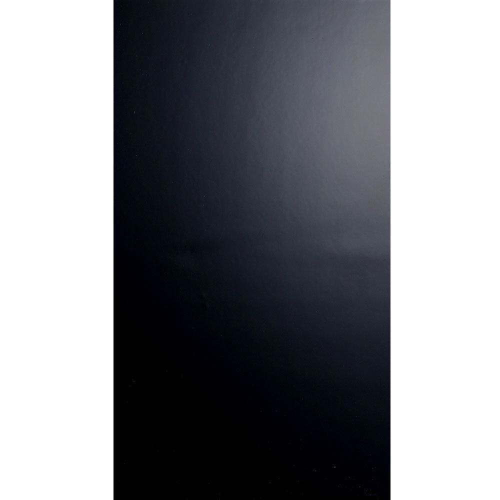 BCT Tiles - 8 Function Black Satin Wall Tiles - 248x498mm - BCT18710 Large Image