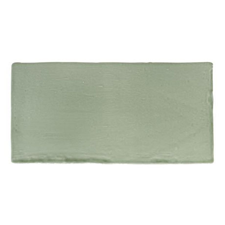 BCT Tiles - 44 Cookhouse Character Sage Gloss Wall Tiles - 150x75mm - BCT23524