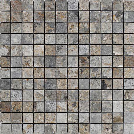 BCT Tiles Naturals Lemon Marble Square Mosaic Tiles - 300 x 300mm - BCT38306