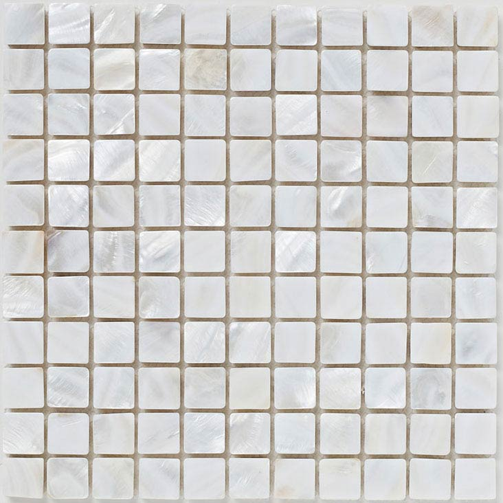BCT Tiles Luxe Mother Of Pearl Mosaic Light Tiles - 300 x 300mm - BCT38580 Large Image