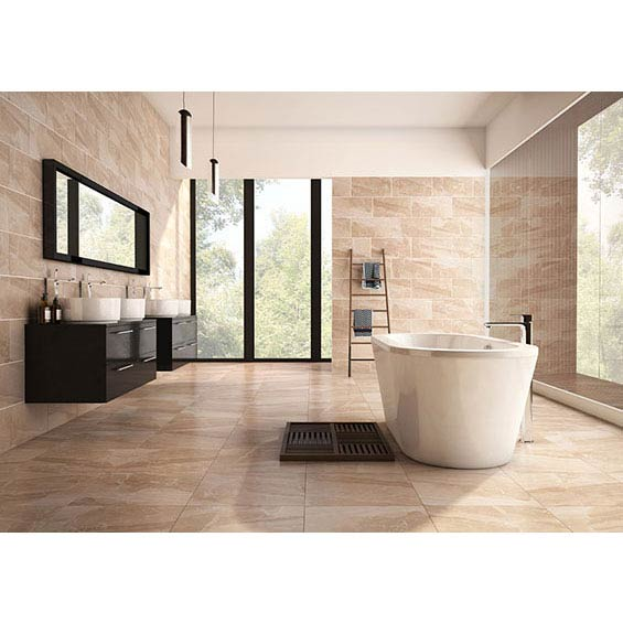 BCT Tiles HD Astbury Beige Floor Tiles - 498 x 498mm - BCT41733  Profile Large Image