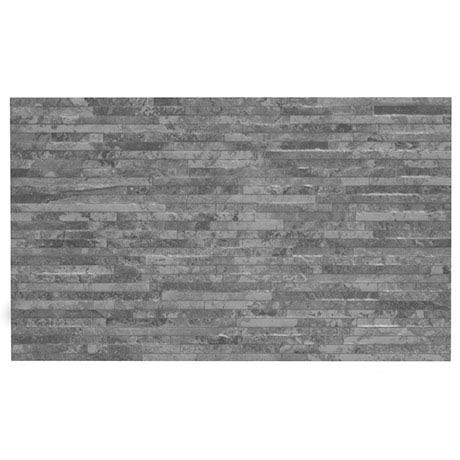 BCT Tiles HD Snowdonia Grey Mini Splitface Wall Tiles - 298x498mm - BCT41825