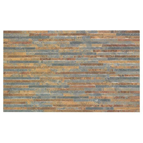 BCT Tiles HD Snowdonia Brown Mini Splitface Wall Tiles - 298x498mm - BCT41832
