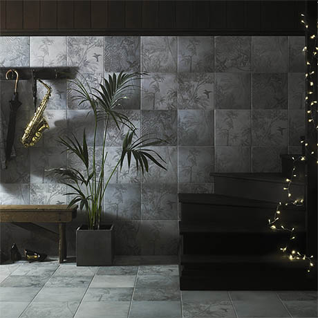 Ted Baker Paradise Wall And Floor Tiles 331 X 331mm
