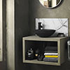 BCT Tiles Impact Geneva White Marble 300 x 600 x 6mm Splashback - BCT54597 profile small image view 1