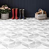 BCT Tiles Feature Floors Samantha Grey Matt Wall & Floor Tiles - 331 x 331mm - BCT57857 Small Image