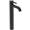 Ideal Standard Ceraline Silk Black Single Lever Tall Basin Mixer profile small image view 1