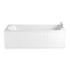Heritage Dorchester Single Ended 2TH Bath with Solid Skin (1700x700mm) profile small image view 1