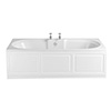 Heritage Dorchester Double Ended 2TH Bath with Solid Skin (1700x750mm) profile small image view 1