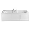 Heritage Dorchester Double Ended 2TH Bath with Solid Skin (1800x800mm) profile small image view 1
