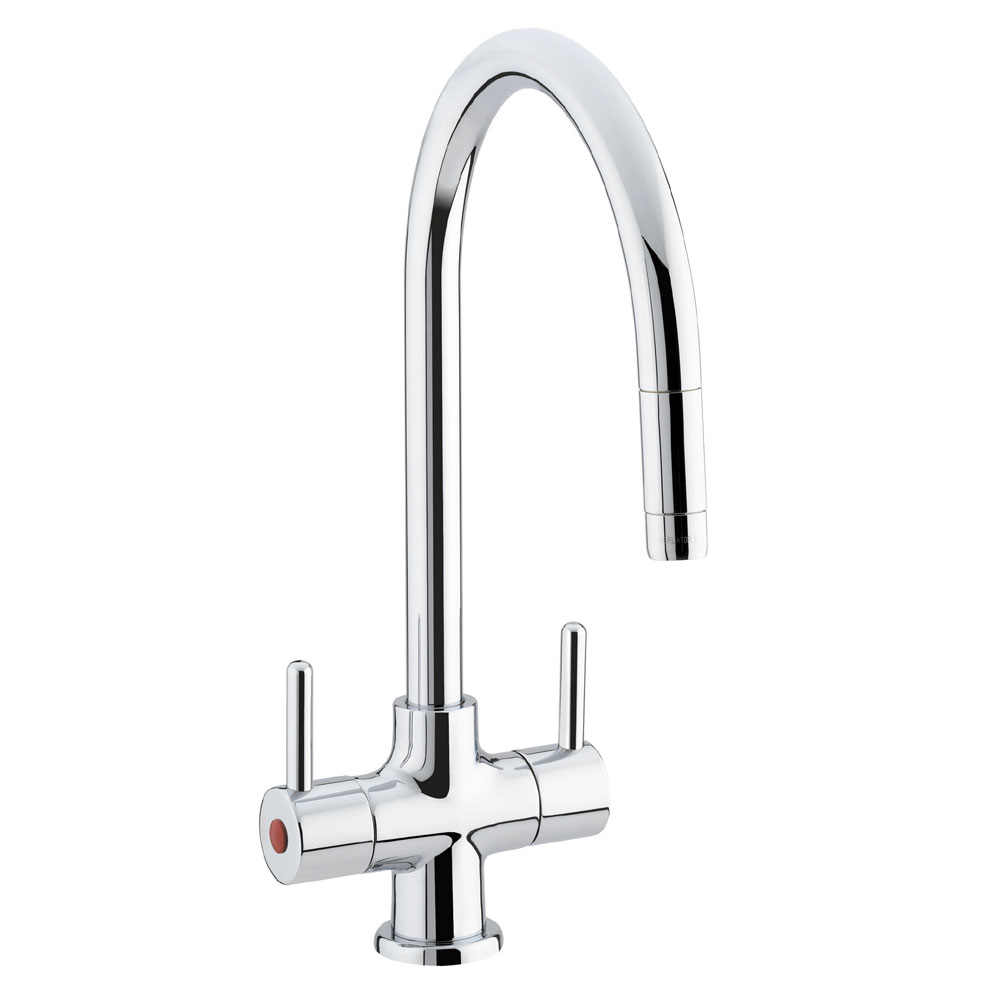 Bristan - Beeline Monobloc Kitchen Sink Mixer with Pull Out Nozzle - BE-SNK-C Large Image
