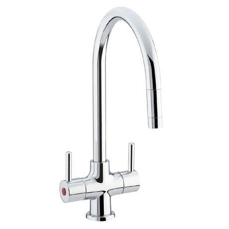 Bristan - Beeline Monobloc Kitchen Sink Mixer with Pull Out Nozzle - BE-SNK-C