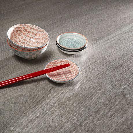 Beacon Grey Oak Wood Effect Floor Tiles - 200 x 1200mm