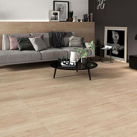 Beacon Oak Wood Effect Floor Tiles - 200 x 1200mm