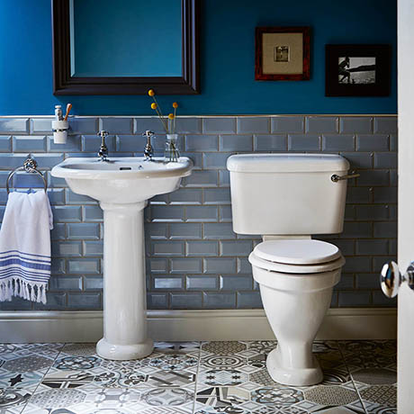 Heritage Belmonte Traditional 4-Piece Bathroom Suite