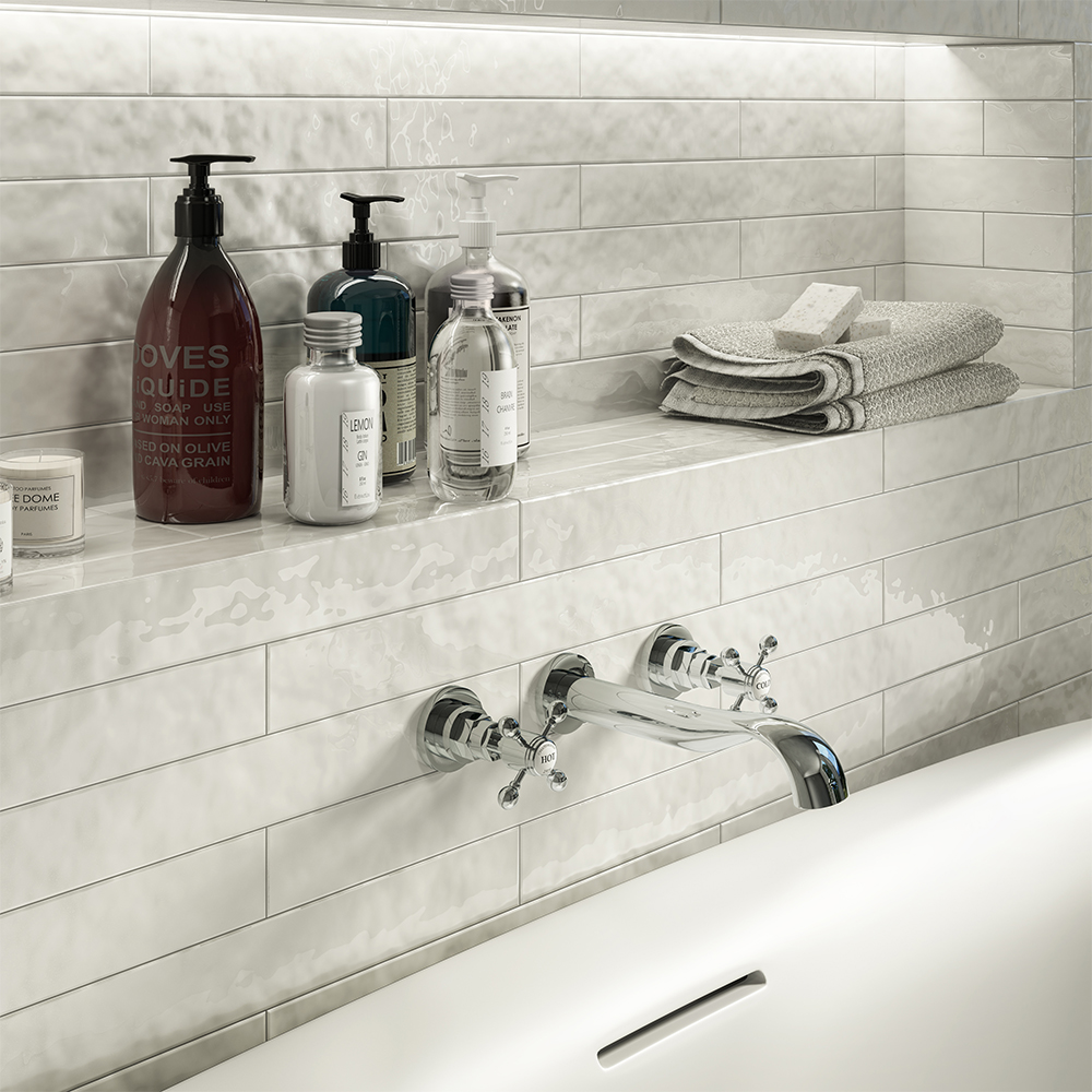 Chatsworth 1928 Traditional Wall Mounted Crosshead Bath Filler Tap