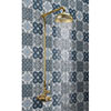 """Crosswater Belgravia Unlacquered Brass Thermostatic Shower Valve with 8"""" Fixed Head profile small image view 1"""