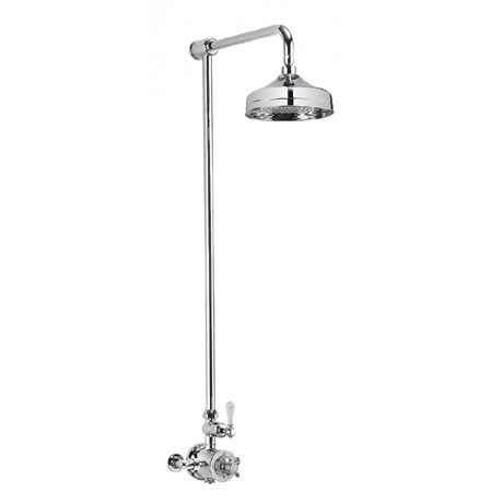 Crosswater - Belgravia Thermostatic Shower Valve with Fixed Head