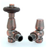 Bentley TRV Thermostatic Radiator Valve - Antique Copper profile small image view 1