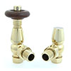 Bentley TRV Thermostatic Radiator Valve - Brass profile small image view 1