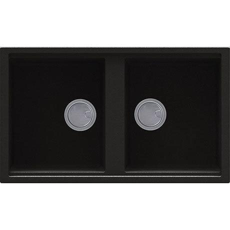 Reginox Best 450 2.0 Bowl Granite Kitchen Sink - Black